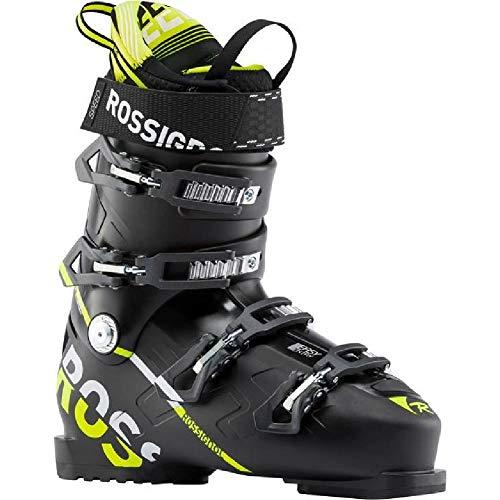 Rossignol Speed 100 Ski Boots Black/Yellow Mens Sz 11.5 (29.5)