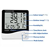Mengshen Digital Hygrometer Thermometer, Indoor