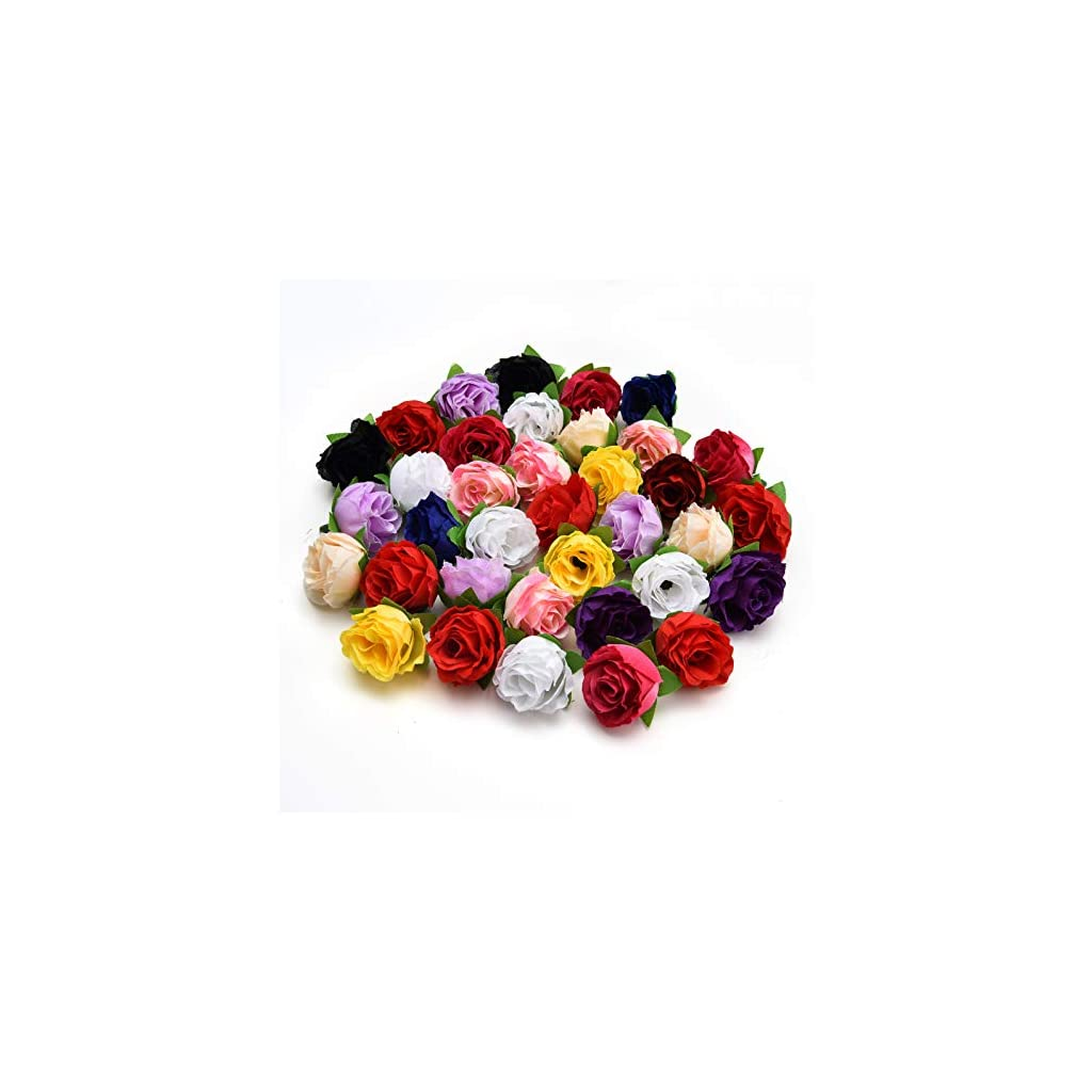 Fake Flower Heads In Bulk Wholesale For Crafts Artificial Flowers