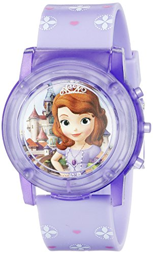 Disney Sofia the First Kids' SOF1561SR Digital Display Analog Quartz Purple Watch