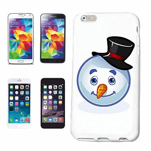 """cas de téléphone iPhone 7S """"JOYEUX BONHOMME SMILEY AS """"SMILEYS SMILIES ANDROID IPHONE EMOTICONS IOS grin VISAGE EMOTICON APP"""" Hard Case Cover Téléphone Covers Smart Cover pour Apple iPhone en blanc"""