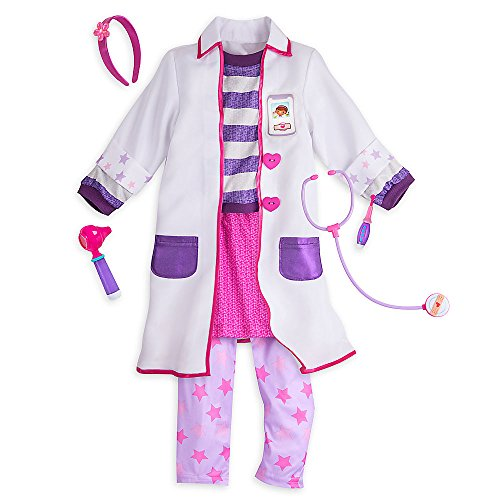 Halloween Costumes Doc Mcstuffins (Disney Doc McStuffins Costume Set for Kids Size 4)