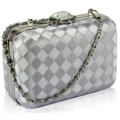 Xardi London, Poschette giorno donna medium Silver