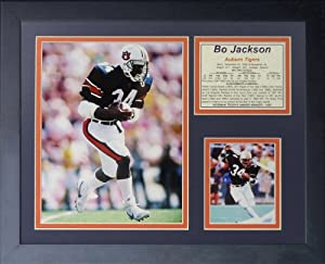 "Legends Never Die ""Bo Jackson Auburn"" Framed Photo Collage, 11 x 14-Inch"