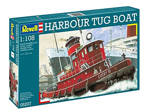 Model Plastic Ship Germany (Revell Harbour Tug  Boat)