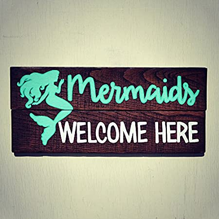 51CTEDLzYsL._SS450_ 100+ Mermaid Home Decor Ideas