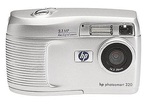 HP PS320 2 MP Digital Camera