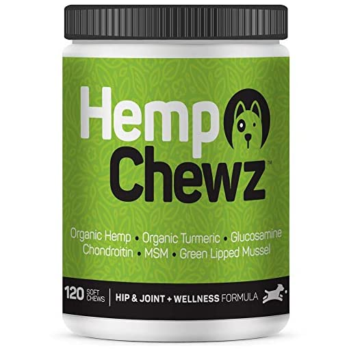 Hemp Chewz Hip & Joint Supplement for Dogs