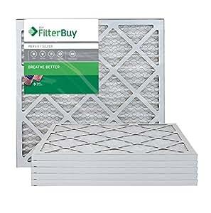 Filterbuy 18x22x1 Merv 8 Pleated Ac Furnace Air Filter