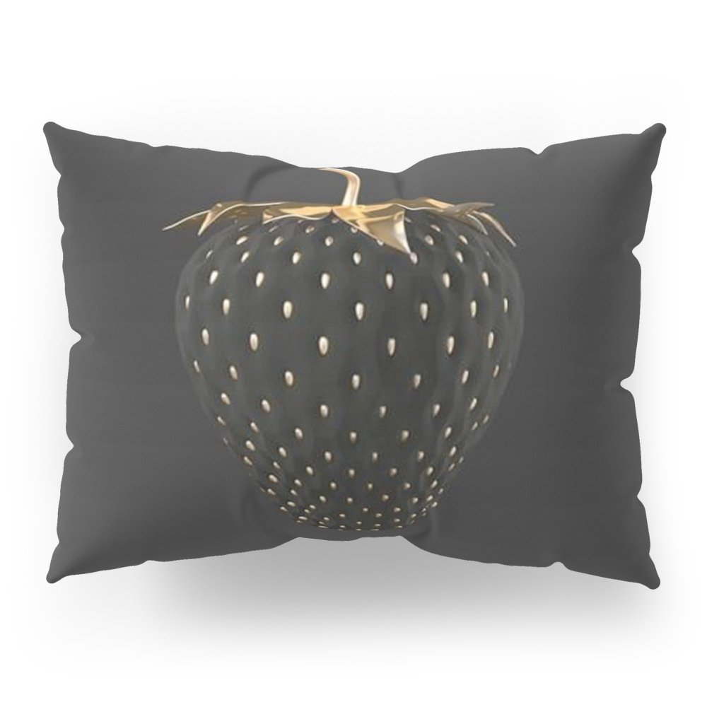 Society6 Strawberry Love Pillow Sham Standard (20'' x 26'') Set of 2