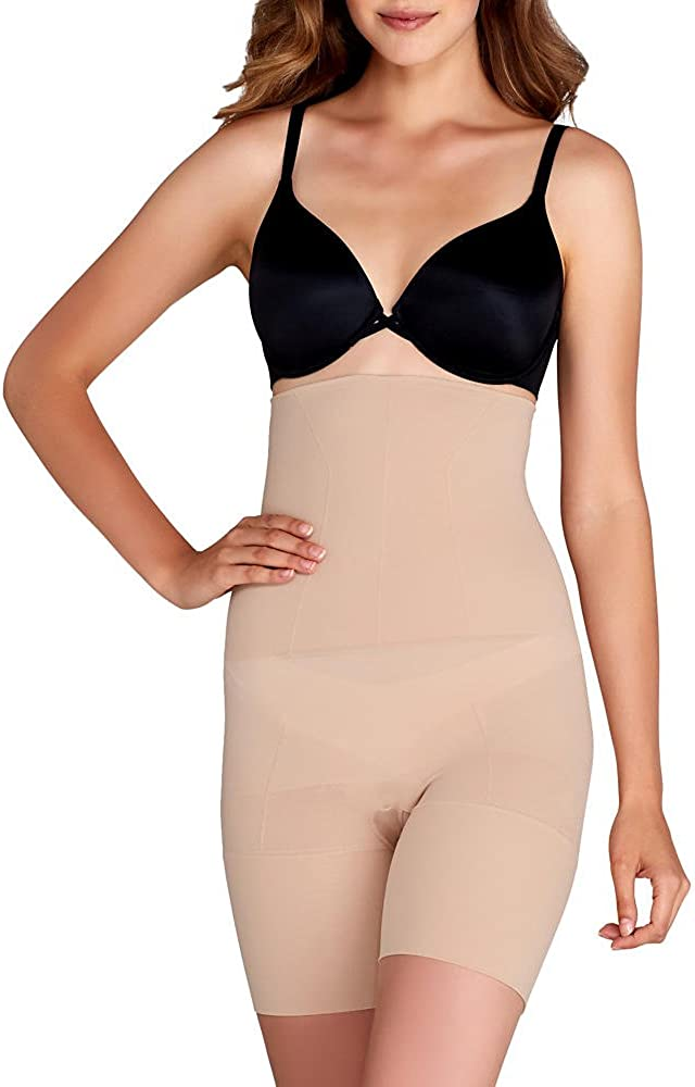 SPANX Flat Out Flawless Extra Firm Control High Waist Shaper, X-Large, Nude