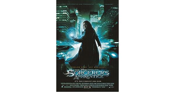 2010 The Sorcerer/'s Apprentice movie gloss Poster 17x24