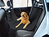 Yes Pets Oxford Waterproof, Tear Proof Hammock Style Car Seat Cover, 58-Inch by 51-Inch, Black