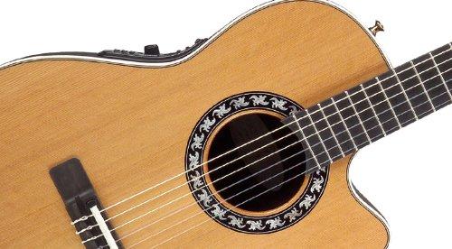 Ovación 1773 ax-4 Classic Nylon (Natural): Amazon.es: Instrumentos musicales