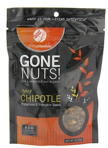 Living Intentions Gone Nuts, Spicy Chipotle, 3 Ounce