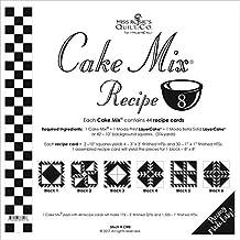 """Moda Cake Mix Recipe #8 ~44 recipe cards will make 176 3"""" Fin QST & 1320 1"""" Fin HST,"""