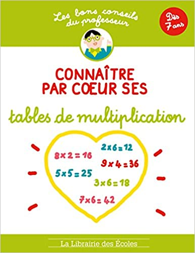 Connatre Par Coeur Ses Tables De Multiplication Ds 7 Ans Amazon