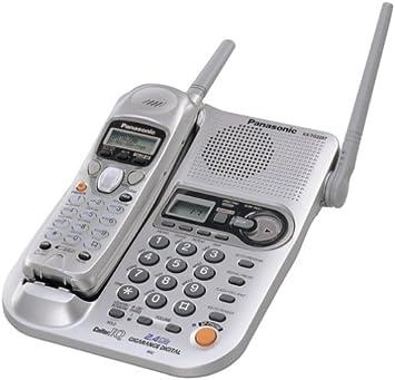 Panasonic KX-TG2257S 2,4 gHz Digital inalámbrico teléfono: Amazon.es: Electrónica