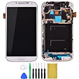 Shinningtop Novelty Replacement Digitizer and Touch Screen LCD Assembly with Frame for Samsung Galaxy S4 i337 (white)
