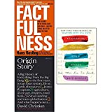 img - for Factfulness, origin story, everything happens for a reason, 3 books collection set book / textbook / text book