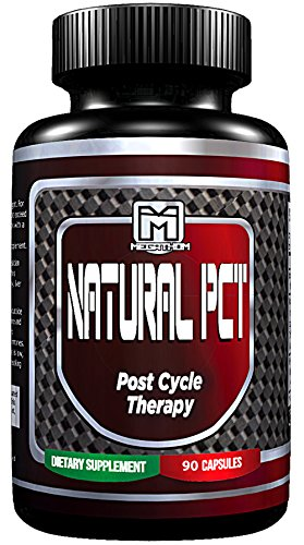 MT Natural Post Cycle Therapy, 90 capsules | Keep your Gains, normalize your hormone levels, Boost your Testosterone levels back up to normal and Rejuvenate your Liver. By MEGATHOM