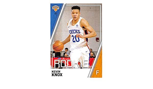 lowest price 94bf4 e78d5 Amazon.com: 2018-19 Panini NBA Stickers #152 Kevin Knox RC ...