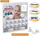Baby & Child Proof Cabinet & Drawers Magnetic Safety Locks Set of 12 with 2 Keys By Eco-Baby – Heavy Duty Locking System with 3M Adhesive Tape Easy To Install Without Damaging Your Furniture Reviews