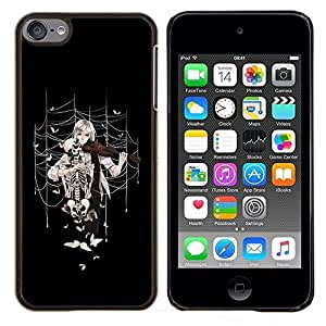 """For Apple iPod Touch 6 6th Touch6 , S-type Anime la muchacha del violín"""" - Arte & diseño plástico duro Fundas Cover Cubre Hard Case Cover"""