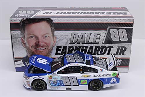 Lionel Racing C881721CVEJ Dale Earnhardt Jr #88 Nationwide Chevy Truck Month 2018 Chevy SS 1:24 Diecast Car, Multicolor
