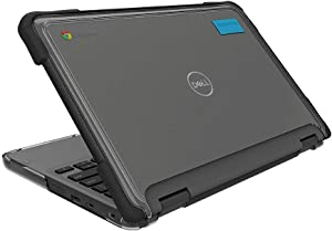 Gumdrop SlimTech Case Designed for Dell 3100 11 2in1 Laptop for Students, Education, Kids, School - Slim, Lightweight, Protection from Bumps and Scratches