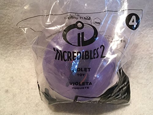 "Violet Ball (McDonald's Happy Meal, 2018 ""Incredibles 2"" Violet in Ball)"