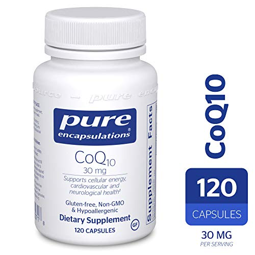 Pure Encapsulations - CoQ10 30 mg - Hypoallergenic Coenzyme Q10 Supplement - 120 Capsules ()