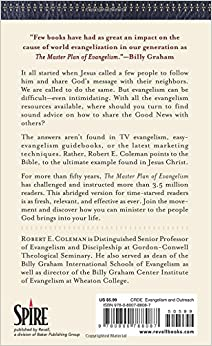 the master plan of evangelism a Get this from a library study guide to the master plan of evangelism [roy j fish robert e coleman.