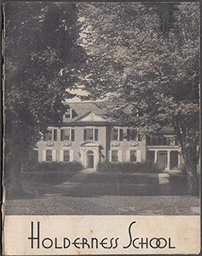 Holderness School for Boys brochure Plymouth NH 1930s