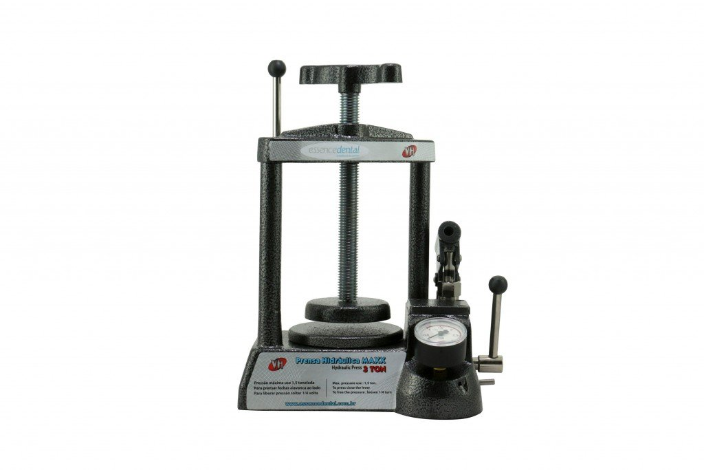 VH- PRESS- Hydraulic Press - 2 Flasks # 003766 100862 Us Dental Depot