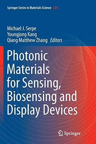 Photonic Materials for Sensing, Biosensing and Display Devices (Springer Series in Materials Science)