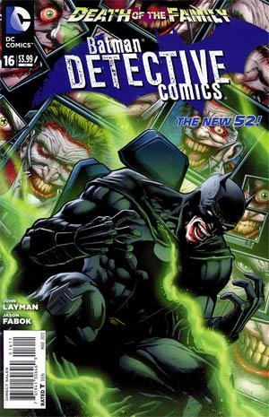 Download Batman in DETECTIVE COMICS # 16 (Mar 2013) Death of the Family Series pdf epub