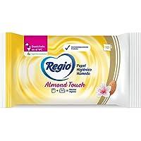 Regio Papel Húmedo Regio Almond Touch, 10 Piezas, Logra La Máxima Higiene, color, 10 count, pack of/paquete de