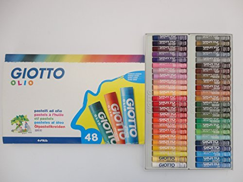 48 Giotto Oil Pastels by Giotto
