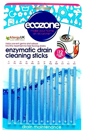 ecozone-enzymatic-drain-cleaning-sticks-prevents-blockages-odours-12-pack-new
