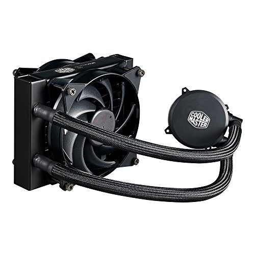 Cooler Master MLX-D12M-A20PW-R1 MasterLiquid 120 CPU Cooler, All-in-One Liquid Cooler, Dual Chamber Design, 120mm MasterFan Air Balance Fans
