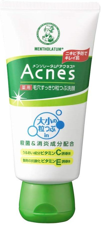 スクラブ洗顔 メンソレータムアクネス ニキビ予防