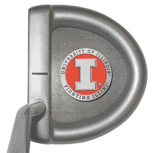 Illinois Fighting Illini Putter by Heritage Pewter