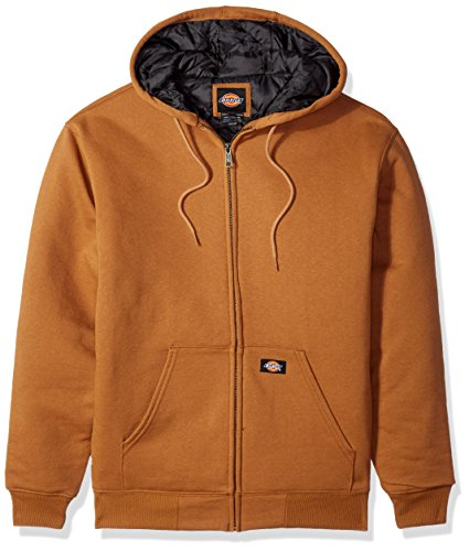 Dickies Men's Heavyweight Quilted Fleece, Brown Duck, L ()