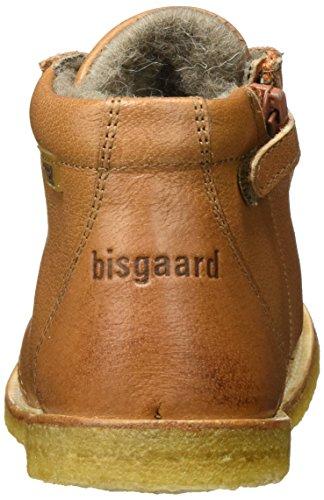 503 Braun Schnürschuhe Unisex Bisgaard Kinder Stiefel Cognac 7gaX1