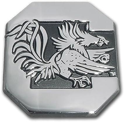South Carolina Gamecocks Premier Chrome Metal Auto Emblem