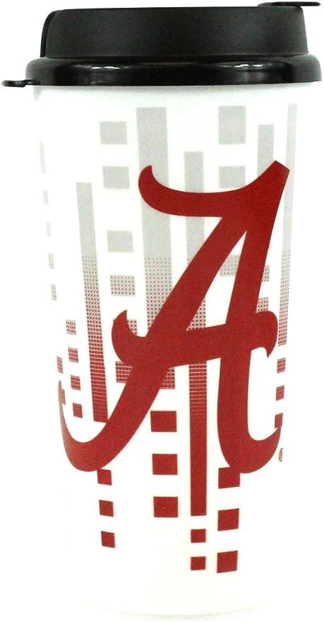 NCAA LSU 16 Ounce Insulated Can Travel Tumbler Cool Gear Team School Logo Mug