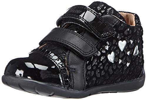 Geox B Kaytan Girl 21 First Walker (Infant/Toddler) - Bla...