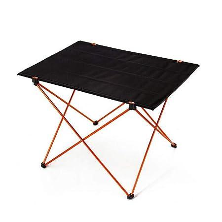 ZY Mesa y sillas Plegables para Acampar livianas portátiles Mesa ...