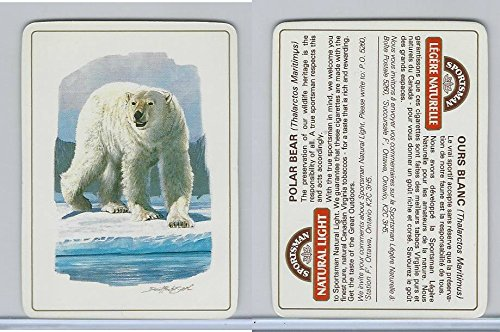 C18-0 Carreras, Wild Animals, 1985, Polar Bear